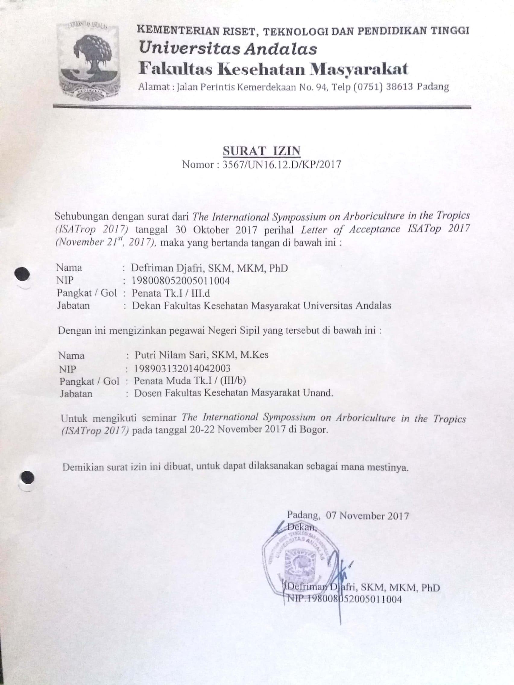 Document Repository Universitas Andalas Analisis Faktor