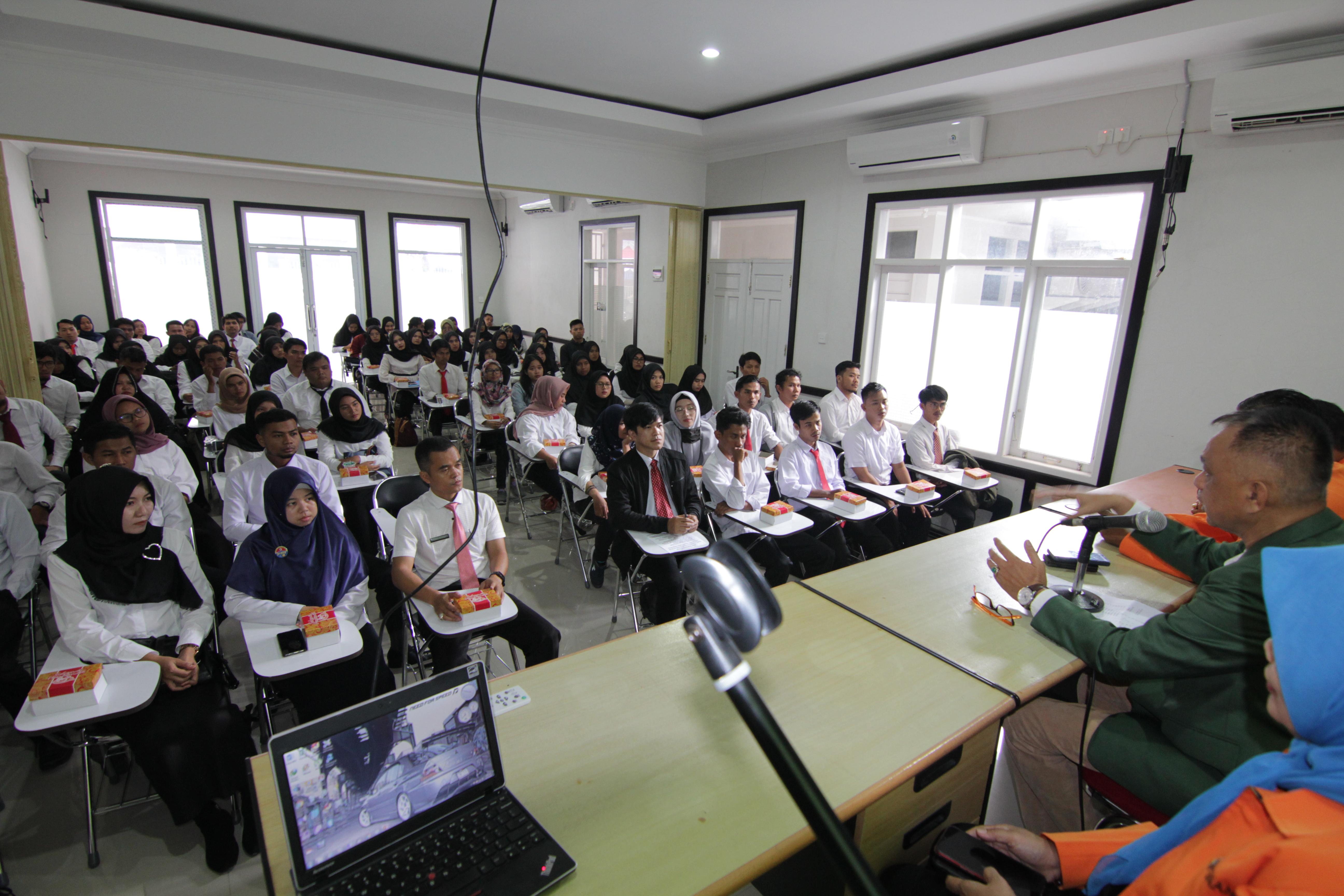 Orientasi & Pelantikan Mahasiswa Baru Program Magister TA. 2019/2020