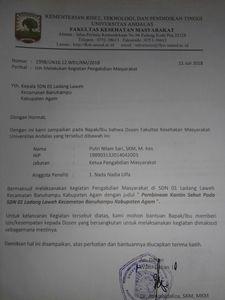 Surat Izin Dekat Pengabdian Masyarakat Document Repository